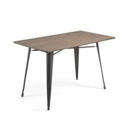 Stół malibu 150x80 grafitowy
