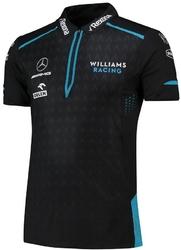 Koszulka polo williams racing 2019 czarna - czarny