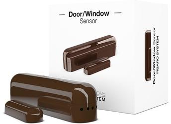 Fibaro doorwindow  sensor c. brąz kontaktron drzwiowo-okienny - możliwość montażu - zadzwoń: 34 333 57 04 - 37 sklepów w całej polsce
