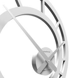Zegar ścienny icarus calleadesign biały 10-117-1