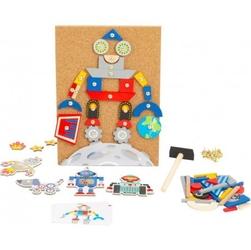 Przybijanka wbijanka roboty 160 elementów
