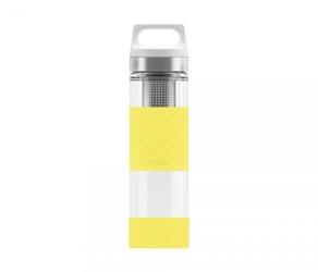Termos szklany sigg wmb z zaparzaczem hot amp; cold glass 400 ml lemon