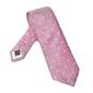 Elegancki różowy krawat van thorn w błękitne paisley
