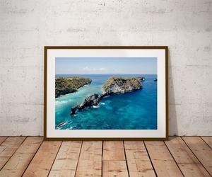 Atuh beach - plakat premium wymiar do wyboru: 59,4x42 cm