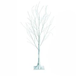 Drzewko ozdobne brzoza 150cm lampki świąteczne 72 led