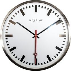 Zegar ścienny super station indeks