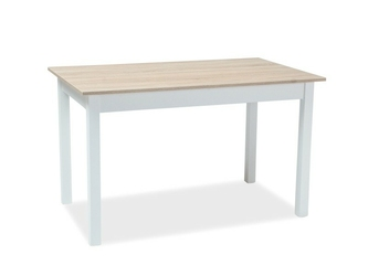 Stół do jadalni hortence 125-170x75 dąb