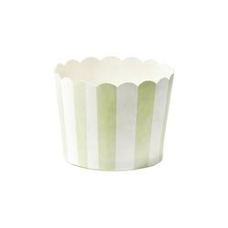 Foremki papierowe paski zielone