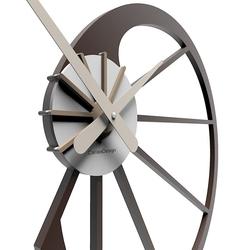 Zegar ścienny snail calleadesign czarny 10-118-5