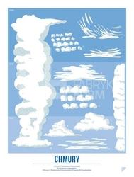 Plakat Chmury 30 x 40 cm