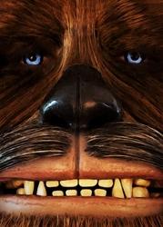 Face it star wars gwiezdne wojny - chewbacca - plakat wymiar do wyboru: 40x50 cm