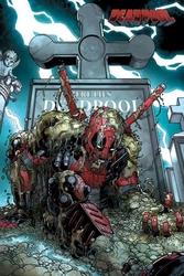 Deadpool grave - plakat