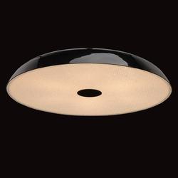 Czarny plafon ze zmiękczaczem światła mw-light megapolis 708010609