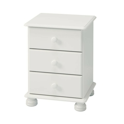 Biała romantyczna szafka nocna richmond
