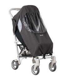 Osłonka przeciwdeszczowa na wózek spacerowy pack it - szara