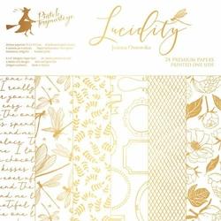 Papier do scrapbookingu Lucidity 15,3x15,3 cm - zestaw