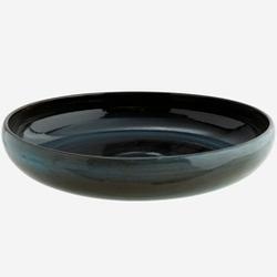 Madam stoltz :: naczynie kamionkowe misa granatowa śr. 30,5 cm
