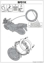 Kappa bf01k pierścień mocujący tanklock suzuki