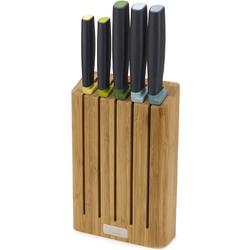 Noże kuchenne w bambusowym bloku na noże Elevate Joseph Joseph 10300