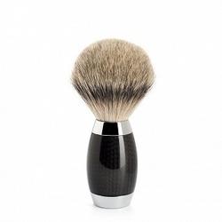 Muhle edition no. 1 ekskluzywny pędzel do golenia włosie silvertip srebro i karbon