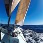 Jacht, żeglowanie - fototapeta