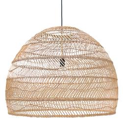 HK Living :: Lampa wisząca wiklinowa L Ø80cm - 80