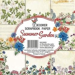 Ozdobne papiery do rękodzieła - Summer Garden