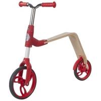 Rowerek biegowy i hulajnoga evo 360° - czerwony