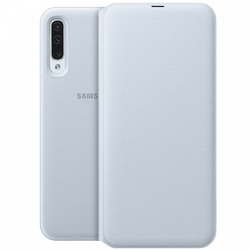 Samsung Etui Wallet Cover do Galaxy A50 białe