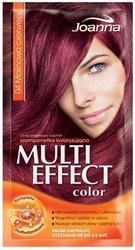 Joanna multi color, szampon koloryzujący w saszetce, 04 malinowa czerwień