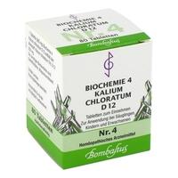 Biochemie 4 kalium chloratum d 12 tabl.