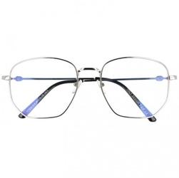 Okulary pilotki z filtrem światła niebieskiego do komputera zerówki t7591a