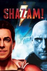 Shazam good vs evil - plakat