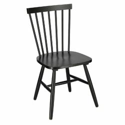Krzesło z drewnianym oparciem fulton