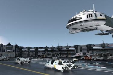 Fototapeta statki kosmiczne 85a
