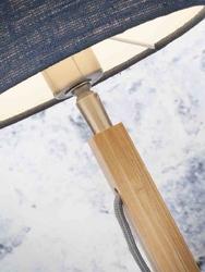 Goodmojo lampa stołowa fuji, abażur w kolorze ciemnoszarym fujit1815dg