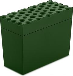 Pojemnik na pieczywo chrupkie brod zieleń leśna