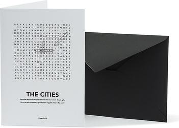 Kartka z kopertą Find Me Cities