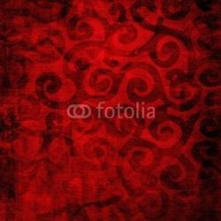 Board z aluminiowym obramowaniem czerwone tło tkaniny