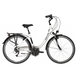 Rower miejski kellys avery 70 2021, kolor biały-czarny, rozmiar 48cm