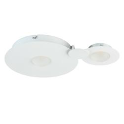 Lampa sufitowa  ścienna led okręgi - biała demarkt techno 637017602
