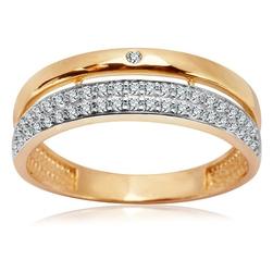 Staviori pierścionek. cyrkonia. żółte złoto 0,333. szerokość obrączki ok. 2,7-6 mm.