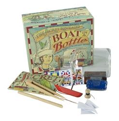 Authentic models łódź w butelce diy ms022a