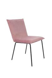 Orange line krzesło floke velvet różowe 1100382