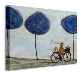 Freewheelin with joyce greenfields and the felix 3 - obraz na płótnie