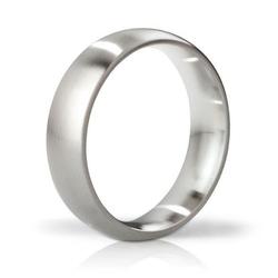 Stalowy pierścień na penisa mystim his ringness earl szczotkowany 51mm