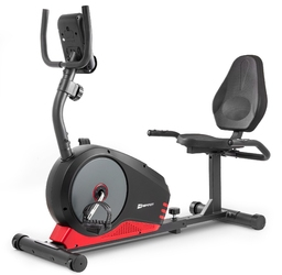 Rower poziomy hs-040l root czarno-czerwony model 2019 - hop sport - czarno-czerwony