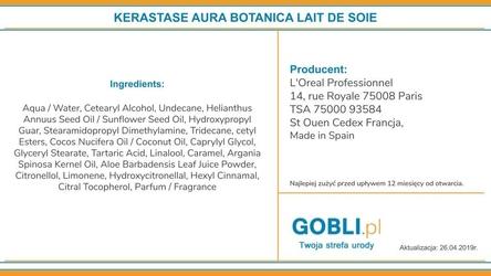Kerastase aura botanica lait de soie mleczko wygładzające do włosów 150ml