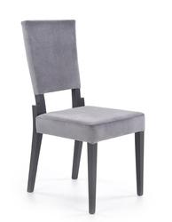 Krzesło drewniane do jadalni zea popielateczarne