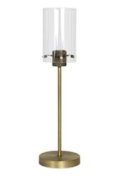 Lampa stołowa vancouver brąz - brązowy || przezroczysty